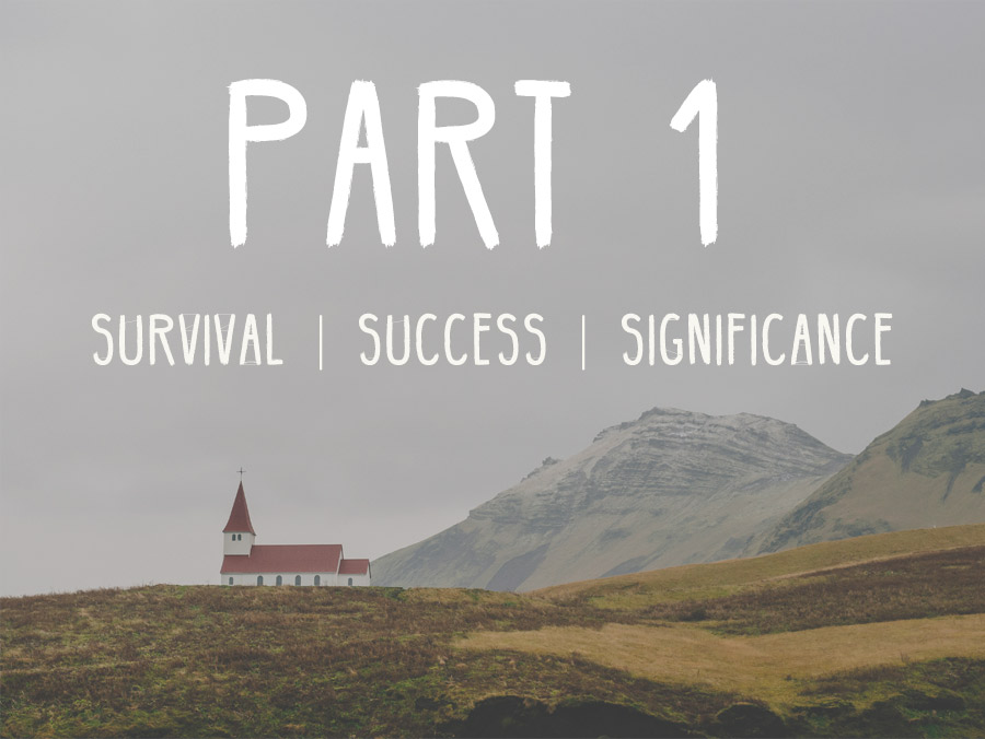 Survival - Success - Significance: Part 1