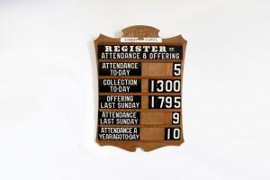 attendance-board