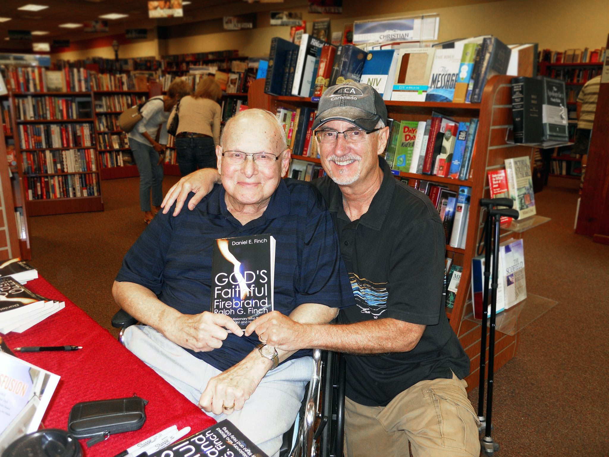 Dan Finch & I at his book release last year.